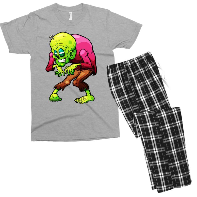 Zombie 4 Men's T-shirt Pajama Set | Artistshot