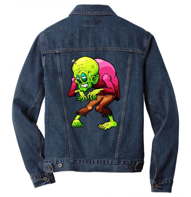 Zombie 4 Men Denim Jacket | Artistshot