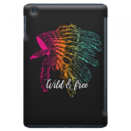 Wild & Free Ipad Mini Case Designed By Omer Acar