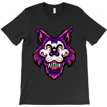 Halloween Werewolf T-shirt Designed By Tiococacola