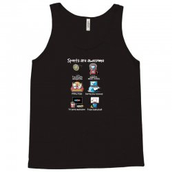 sports are awesome Tank Top | Artistshot