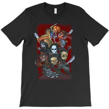 Halloween Horror T-shirt Designed By Amber Petty