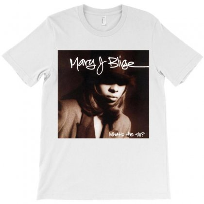Mary J Blige T-shirt Designed By Amber Petty