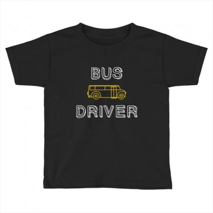 Bus Driver Toddler T-shirt Designed By Wizarts