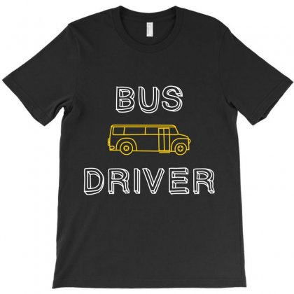 Bus Driver T-shirt Designed By Wizarts