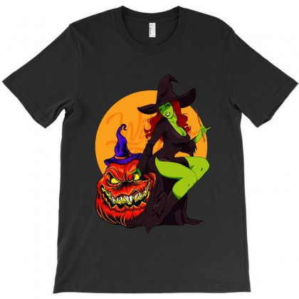 Halloween 2019 Witch T-shirt Designed By Tiococacola