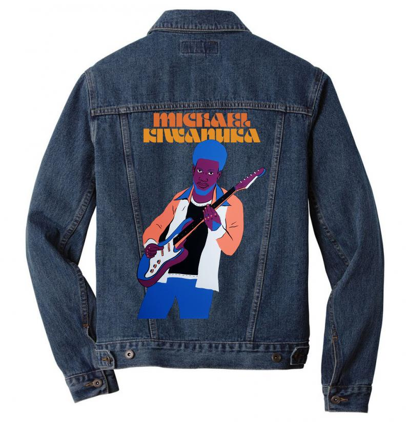 Michael Kiwanuka Men Denim Jacket | Artistshot