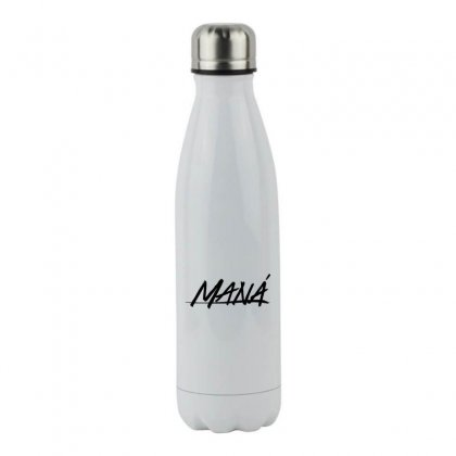 Mana Band Logo Stainless Steel Water Bottle Designed By Oktaviany