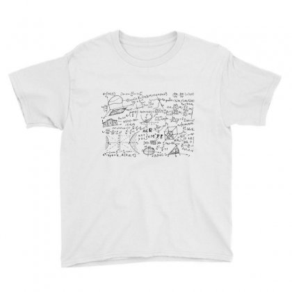 Mathematics Formula Equation Mathematical Notation Youth Tee Designed By Salmanaz