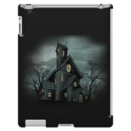 House Haunted House Ghost Building Ipad 3 And 4 Case Designed By Salmanaz