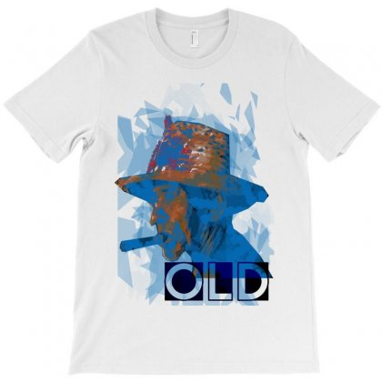 Old Man T-shirt Designed By Ajha84