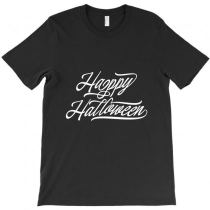 Happy Halloween 2019 Lettering T-shirt Designed By Tiococacola