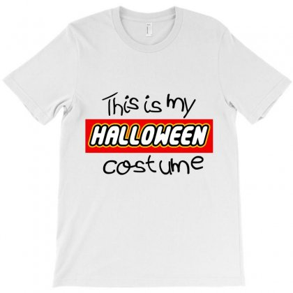 Halloween Lego 2019 This Is My Costume T-shirt Designed By Tiococacola