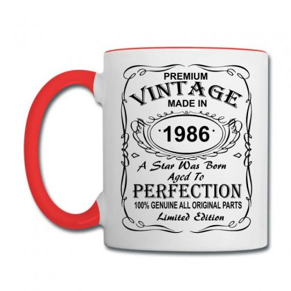 Birthday Gift Ideas For Men And Women Was Born 1986 Coffee Mug