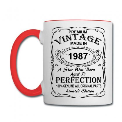 Birthday Gift Ideas For Men And Women Was Born 1987 Coffee Mug