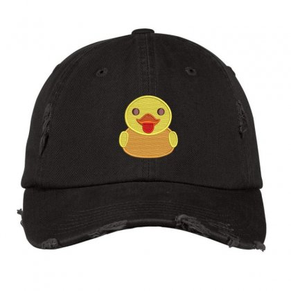 Baby Duck Distressed Cap Designed By Madhatter