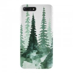 tree watercolor painting pine forest iPhone 7 Plus Case | Artistshot