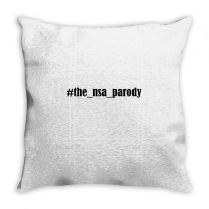 #the Nsa Parody Throw Pillow Designed By Mdk Art