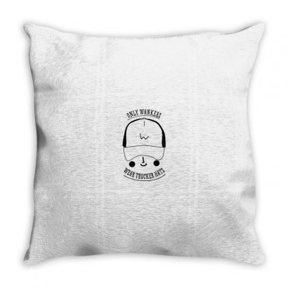 Trucker Caps Throw Pillow Designed By Al1