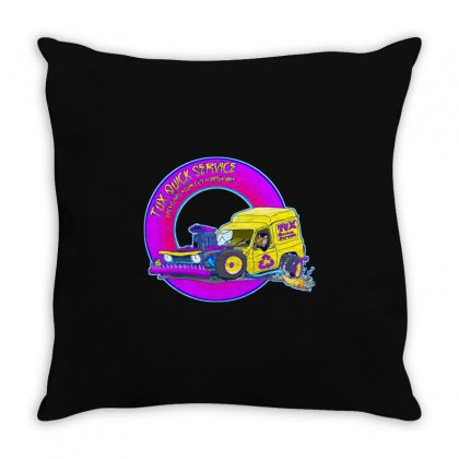 Tux Hot Rod Throw Pillow Designed By Al1