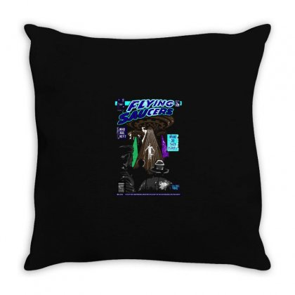 Ufo Color Throw Pillow Designed By Al1