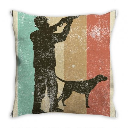 Hunting Throw Pillow Designed By Gurkan