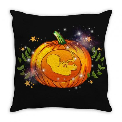 Pumpkin Maternity Baby Throw Pillow Designed By Sengul