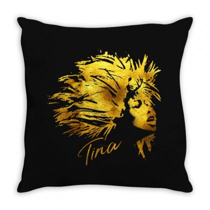 Tina Musical Throw Pillow Designed By Sengul
