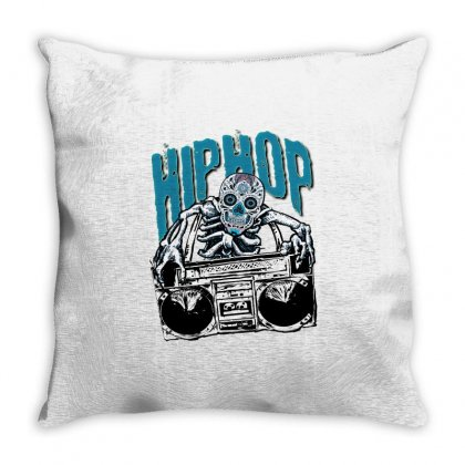 Hihop Throw Pillow Designed By Dundun