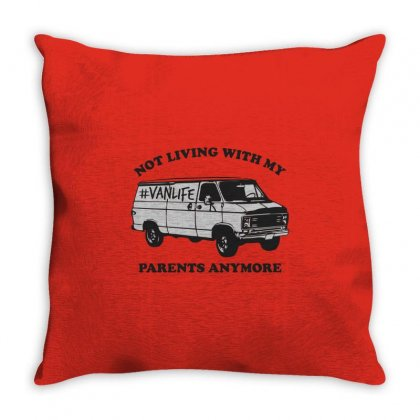 Van Life Throw Pillow Designed By Al1