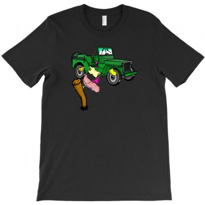 4wd Adventure T-shirt Designed By Andr1
