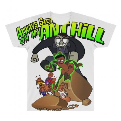 Ant Bully All Over Men's T-shirt Designed By Pinkanzee