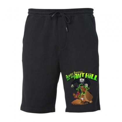 Ant Bully Fleece Short Designed By Pinkanzee
