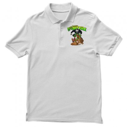 Ant Bully Men's Polo Shirt Designed By Pinkanzee