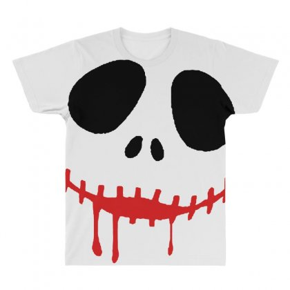 Bad Clown All Over Men's T-shirt Designed By Pinkanzee