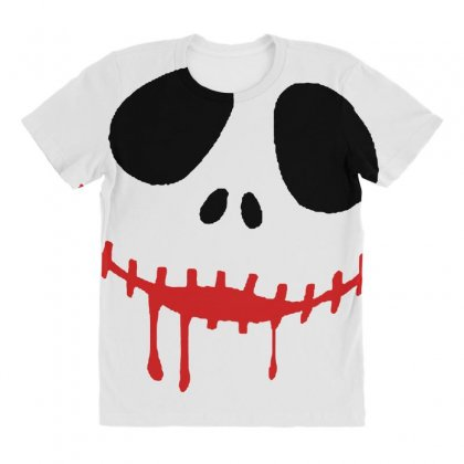Bad Clown All Over Women's T-shirt Designed By Pinkanzee