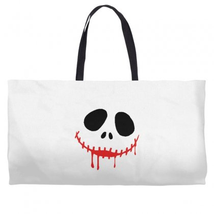 Bad Clown Weekender Totes Designed By Pinkanzee