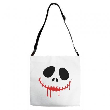 Bad Clown Adjustable Strap Totes Designed By Pinkanzee