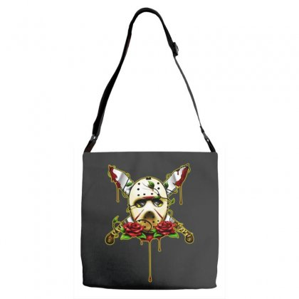 Halloween Horror Adjustable Strap Totes Designed By Pinkanzee