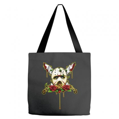 Halloween Horror Tote Bags Designed By Pinkanzee