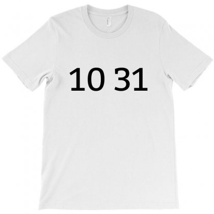 10 31 T-shirt Designed By Mdk Art