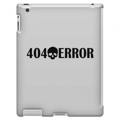 404 Error Ipad 3 And 4 Case Designed By Mdk Art