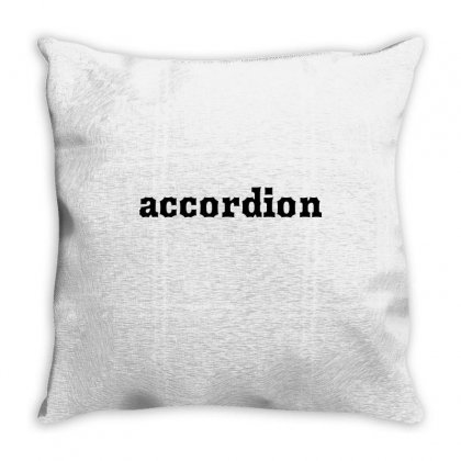 Accordion Throw Pillow Designed By Mdk Art