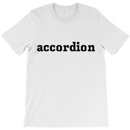 Accordion T-shirt Designed By Mdk Art
