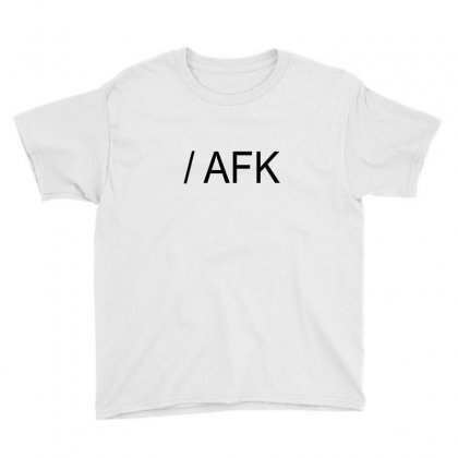 Afk Youth Tee Designed By Mdk Art
