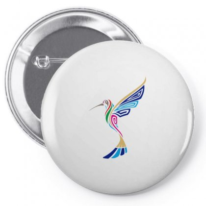 Colibri Pin-back Button Designed By Farith0502