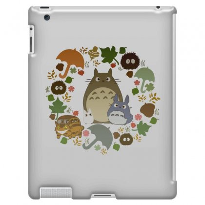 Totoro Cute Ipad 3 And 4 Case Designed By Jetspeed001