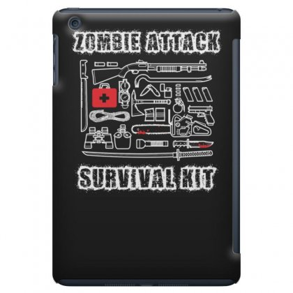 Zombie Survival Kit Funny Ipad Mini Case Designed By Erryshop