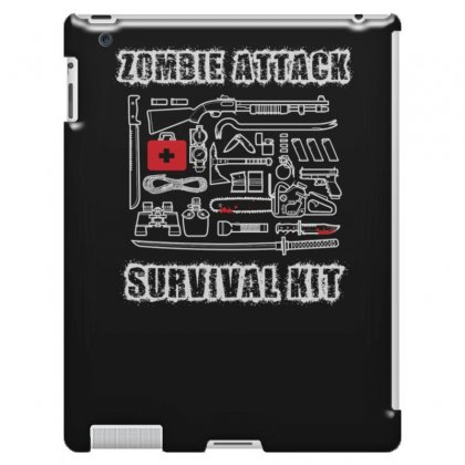 Zombie Survival Kit Funny Ipad 3 And 4 Case Designed By Erryshop