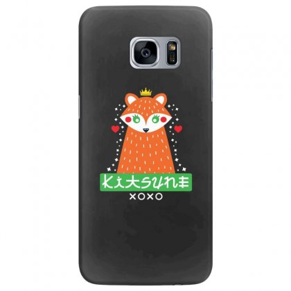 Foxy Kitsune Fox Samsung Galaxy S7 Edge Case Designed By Andr1